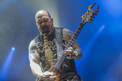 Tony skała, Slayer (dzień 3) Zdjęcie Stock