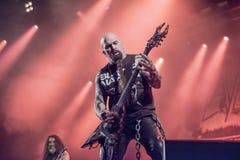 Tony skała, Slayer (dzień 3) Obraz Royalty Free