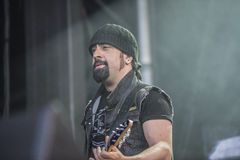 Tony skała 2014, Volbeat zdjęcie stock