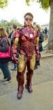 Tony Stark bij de Strippagina en Spelen 2014 van Luca Stock Afbeelding