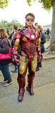 Tony Stark en los tebeos y los juegos 2014 de Lucca Imagen de archivo