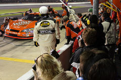 Tony Stewart Makes a Pit Stop! Stock Photography