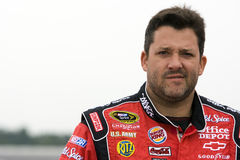 Tony Stewart on pit road Stock Image