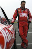 Tony Stewart on pit road Stock Photography