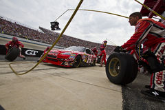 Tony Stewart Pit Stop Stock Image