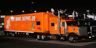 Tony Stewart's Hauler Royalty Free Stock Photo