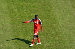 Tony Tchani debuts for Toronto FC Stock Photo