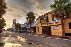 Tonya€Tss Saloon上尉在基韦斯特岛,佛罗里达 免版税库存照片