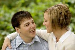 Tonya en Bryan Engagement 10 Stock Foto's