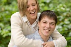 Tonya en Bryan Engagement 5 Royalty-vrije Stock Foto