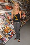 Tonya Kay at an in-store signing by Tonya Kay (www.tonyakay.com) for her new issue Tarot: Witch of the Black Rose, Comic Bug, Manh Stock Photos