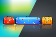 Too big suitcase Royalty Free Stock Photography