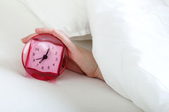 Too early to waking up Stock Photo