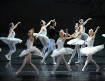 Too late to regret the prince to find Ojta-The Swan Lakeside-ballet Swan Lake Stock Photos