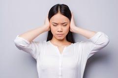 Too loud sound. Stock Photos