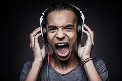 Too loud sound. Stock Photography