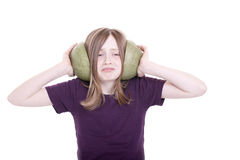 Too loudly Royalty Free Stock Photo