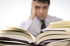 Too many books Stock Photography