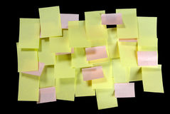 Too many notes Stock Photography