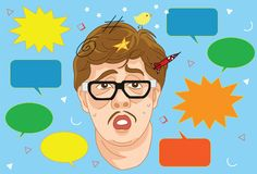 Too many notification on social media vector illustration. For many purpose such as print stuff or online stuff website, blog, etc Royalty Free Illustration