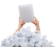 Too many paper work. Concept Royalty Free Stock Images