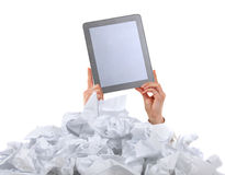 Too many paper work. Concept Royalty Free Stock Image