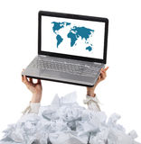 Too many paper work. Concept Stock Photography