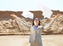 Too many paper work. Royalty Free Stock Photography