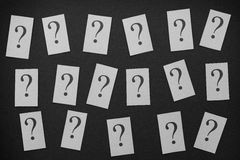 Too Many Questions Stock Image