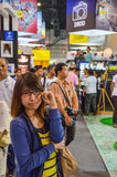 Visitor disappoint at Thailand Photo Fair Royalty Free Stock Images