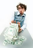 Too much money Royalty Free Stock Photos
