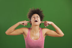 Too much noise Stock Photo