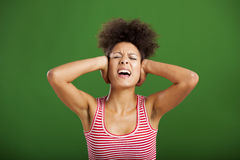 Too much noise Royalty Free Stock Photos