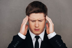 Too much stress. Stock Photography