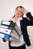 Too much work Stock Photos