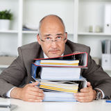 Too much work Stock Images