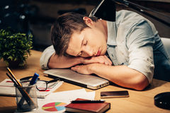 Too much work. stock images