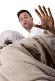 Too Noisy to Sleep Royalty Free Stock Image