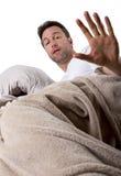 Too Noisy to Sleep Royalty Free Stock Image