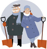 Too old for snow Royalty Free Stock Photography