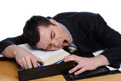 Too Tired Royalty Free Stock Images