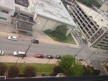Too view. Top floor of university of Louisville stock photography