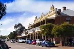 Toodyay-Stadt-Mitte, West-Australien Lizenzfreie Stockfotos