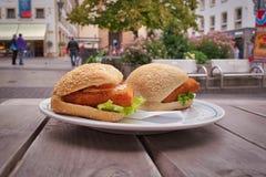 Street food fast food in europe stock photos