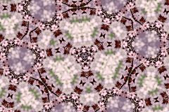 Abstract Cherry blossoms royalty free stock images