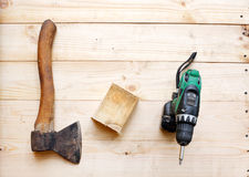 Tool. Joiner's work Royalty Free Stock Images