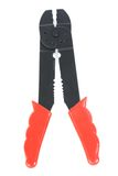 Tool. Isolated pair of wire cutter royalty free stock photo