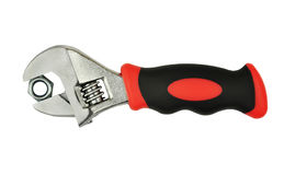 Tool of adjustable wrench stock image