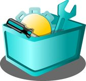 Tool application icon. Modern application graphic icon cart Royalty Free Stock Photo