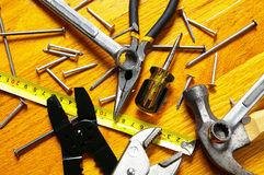 Tool assortment Royalty Free Stock Photo